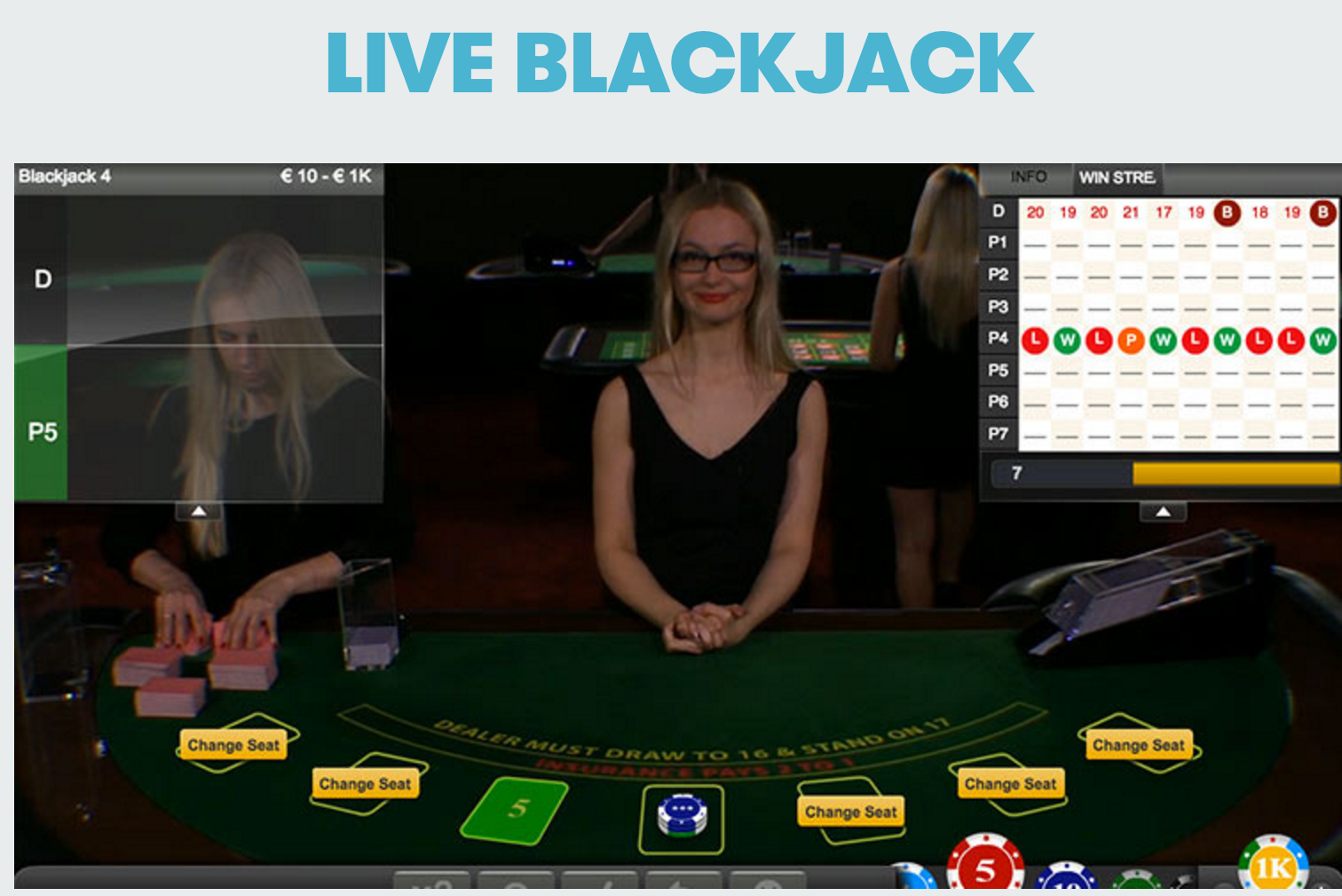live online casino card counting