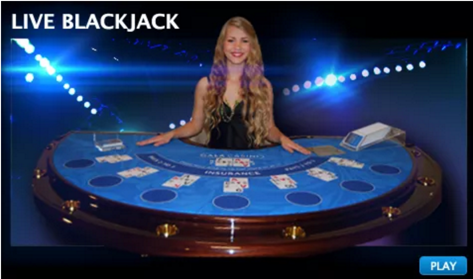 online casino with live blackjack